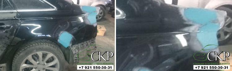 Восстановление кузова Ауди А6 (С7) в СПб от компании СКР