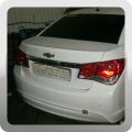 Кузовной ремонт Шевроле Круз (Chevrolet Cruze) после аварии