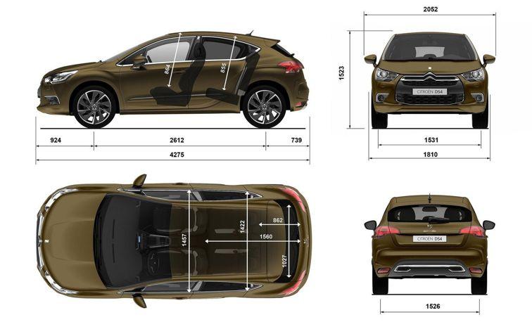 Кузовной ремонт Citroen DS4 (Ситроен ДС4)