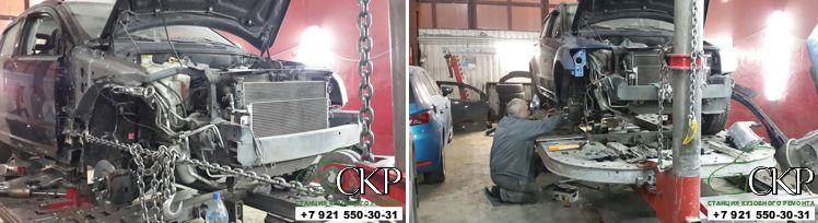 Кузовной ремонт Додж Калибр