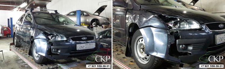 оценка ремонта форд фокус