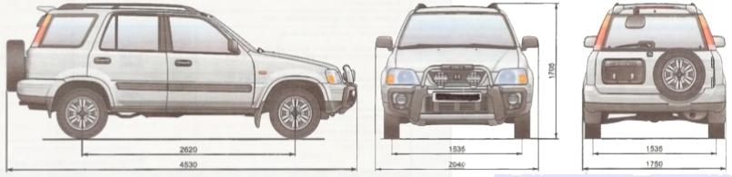 Кузовной ремонт Хонда ЦРВ