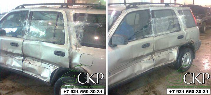 Кузовной ремонт Хонда ЦРВ (Honda CR-V) в СПб