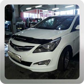 Кузовной ремонт крыла и двери на Хендай Солярис (Hyundai Solaris)