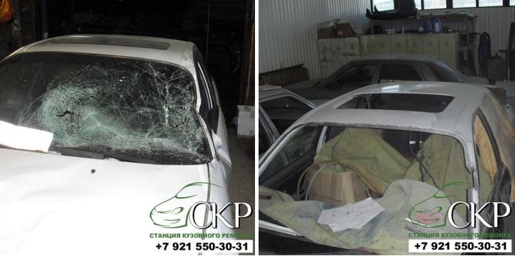 Кузовной ремонт Hyundai (Хендай) SONATA 2 в СПб