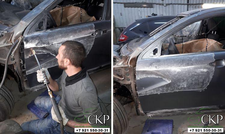 Ремонт кузоваЛада Веста (Lada Vesta) в СПб от компании СКР