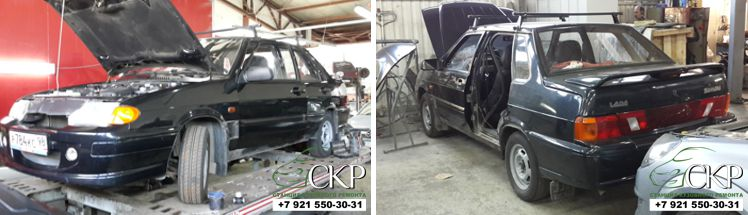 Кузовной ремонт ВАЗ 21154