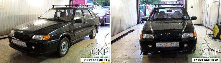 Кузовной ремонт ВАЗ 21154 в СПб