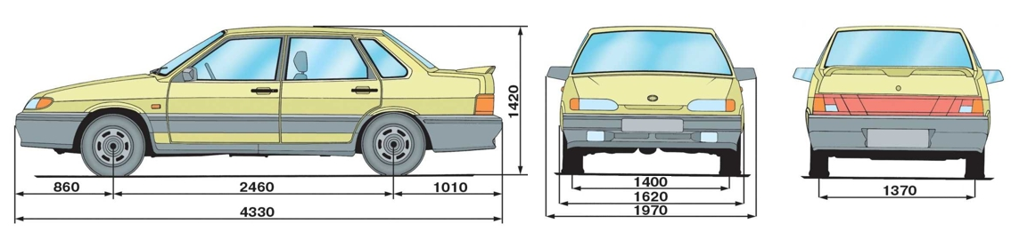 Кузовной ремонт ВАЗ 2115