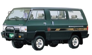 Кузовной ремонт Мицубиси Делика (Mitsubishi Delica)