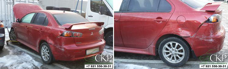 оценка ремонта Mitsubishi Lancer
