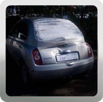 Восстановление кузова Ниссан Микра (Nissan Micra) в СПб