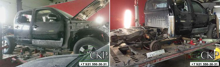 ремонт кузова ниссан навара