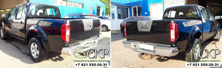 Восстановление кузова Ниссан Навара (Nissan Navara) в СПб