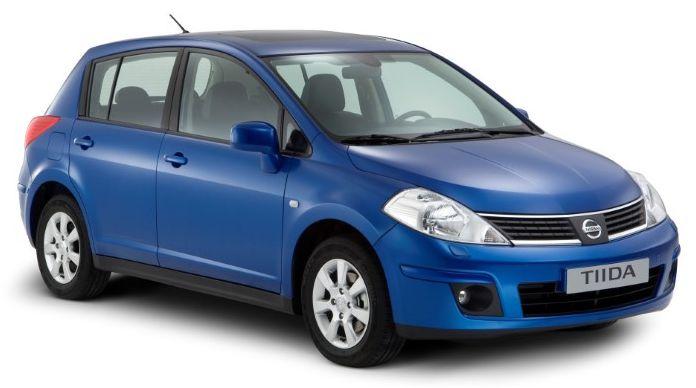 ремонт Ниссан Тиида (Nissan Tiida) в СПб
