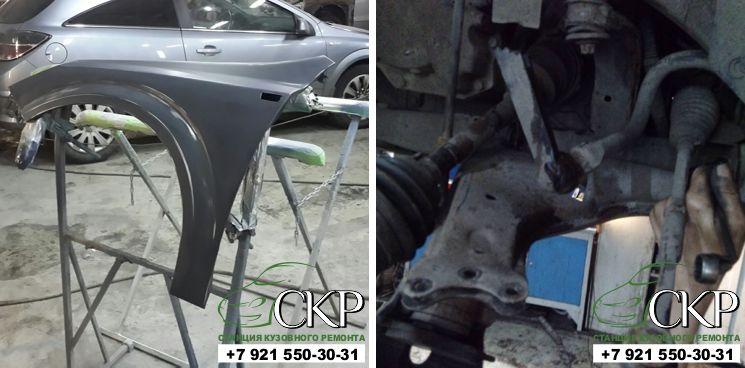 Кузовной ремонт Опель Астра Н
