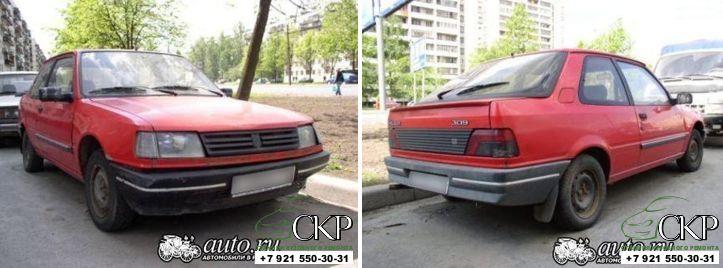 Кузовной ремонт Пежо 309(Peugeot 309) в СПб
