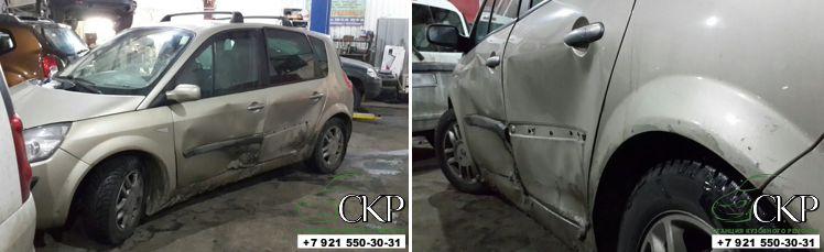 Кузовной ремонт Рено Сценик