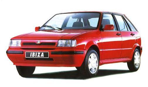 Seat Ibiza 1 поколение 1984 год