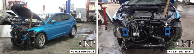 Кузовной ремонт Сеат Леон