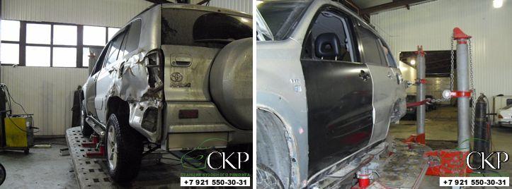 Кузовной ремонт Тойота Рав 4 (ToyotaRAV4) в СПб