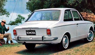 Тойота королла 1966