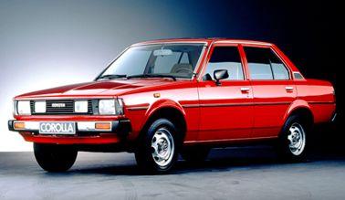 Тойота королла 1979