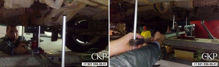Кузовной ремонт передней части Уаз Патриот