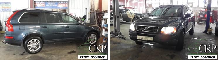 Кузовной ремонт Вольво CX-90
