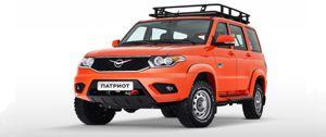Новая модель UAZ Patriot для экспедиторов