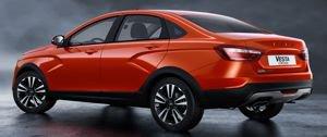 До старта продаж седана Lada Vesta Cross осталось всего 3 месяца!