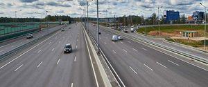 В России запланировано сужение полос на дорогах